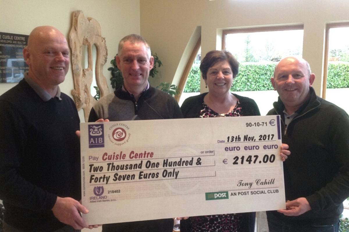 An Post Fundraising Cuisle Cancer Support