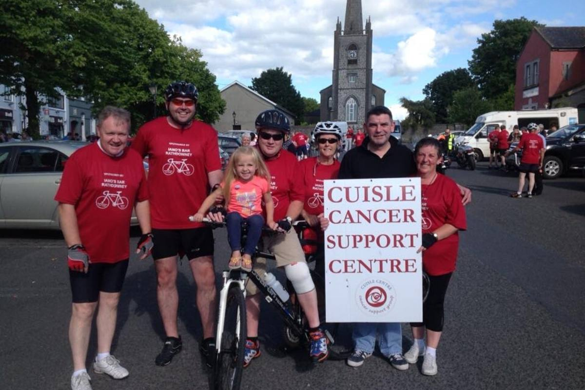 Cycle Fundraising Cuisle Cancer Support
