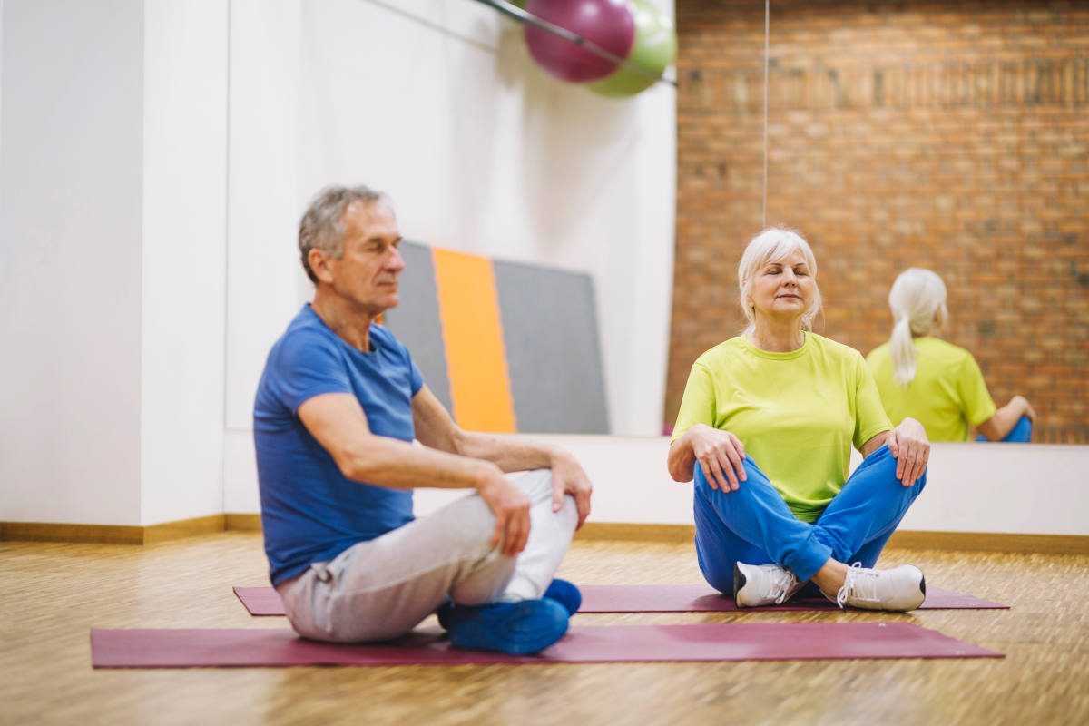 Yoga class cuisle cancer support